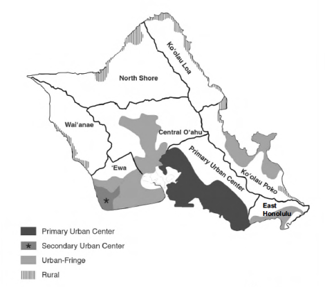 General plan map